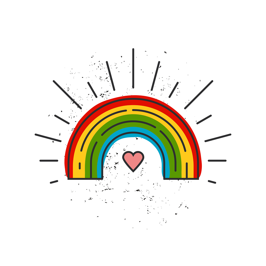 lgbtq pride rainbow