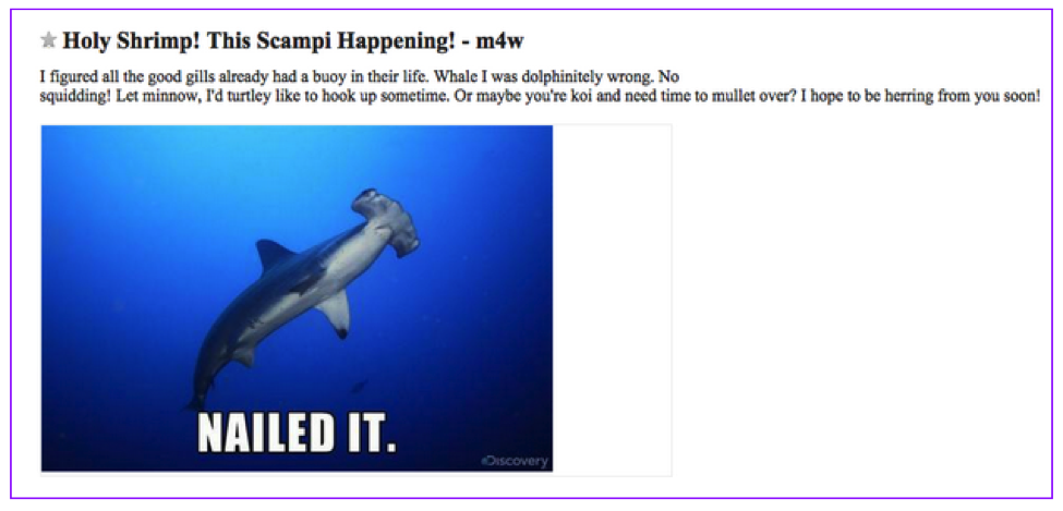 13 Craigslist Ads that Will Change the Way You Look at Dating